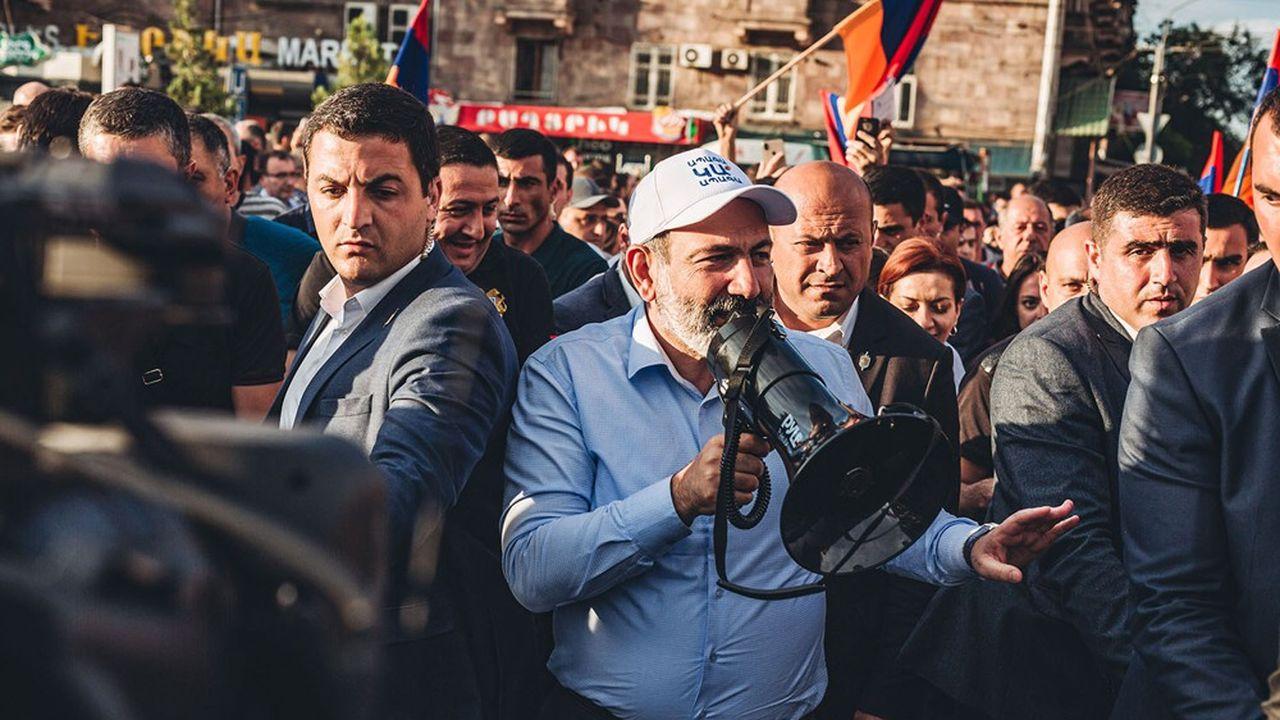 Le Premier ministre, Nikol Pashinyan, est en difficulté pour se succéder à lui-même à l'issue des législatives de dimanche.