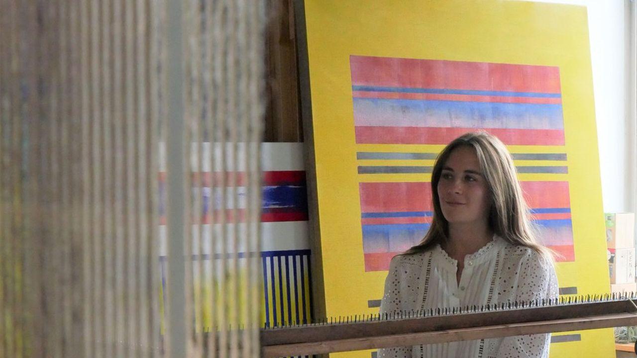 Annabelle Cohen-Boulakia, la fondatrice de Millenn'Art.