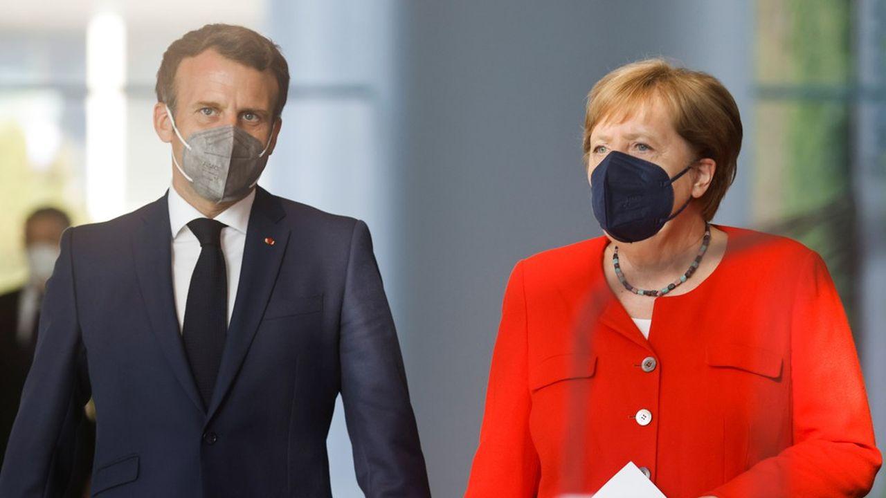 EN DIRECT - Covid : Macron et Merkel alertent sur la dangerosité du variant Delta