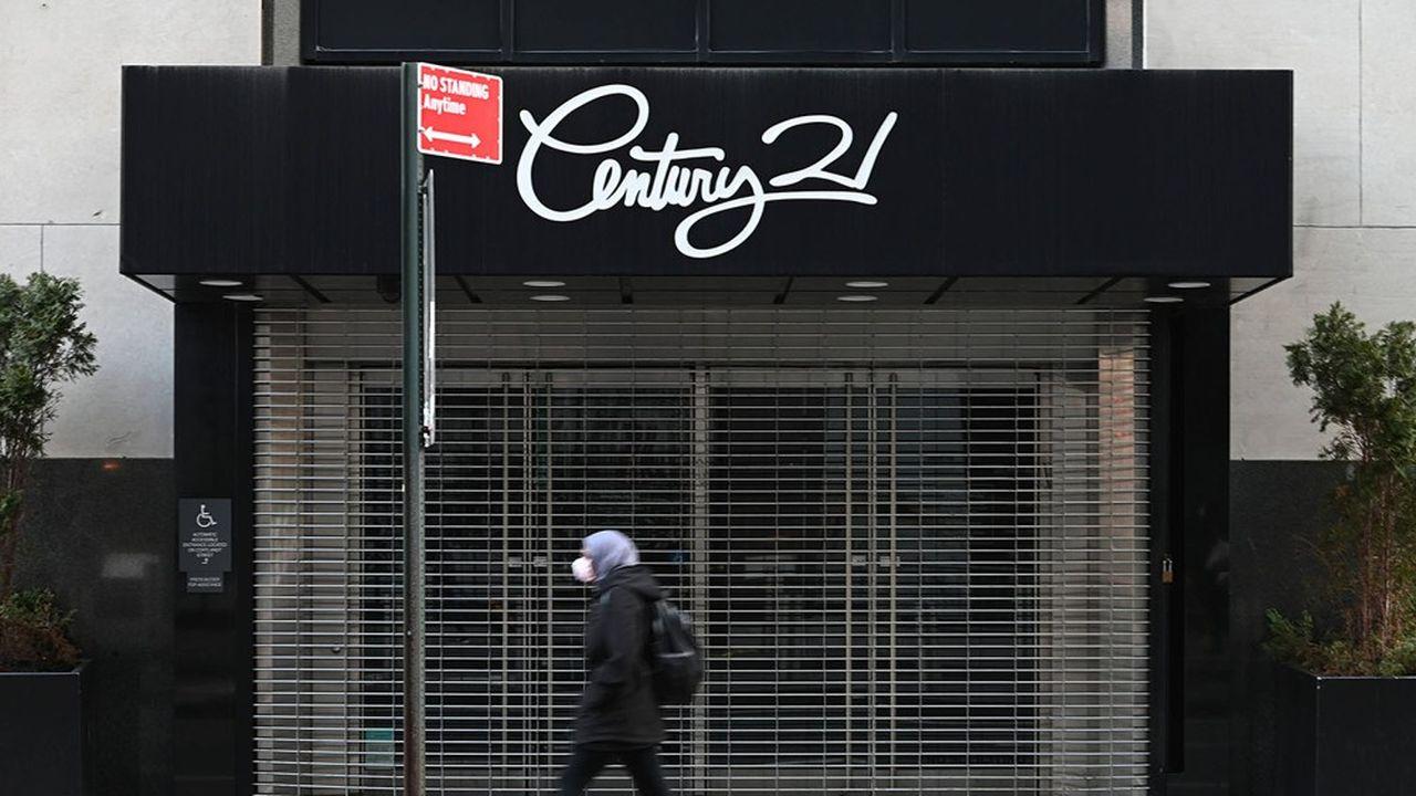 De nombreuses enseignes ont fermé leurs portes durant la pandémie et n'ont pas rouvert, à New York.