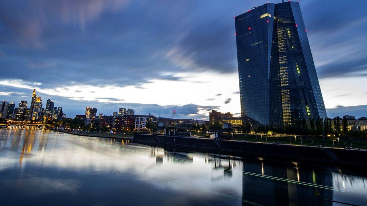 La BCE veut éviter un risque de resserrement du crédit.