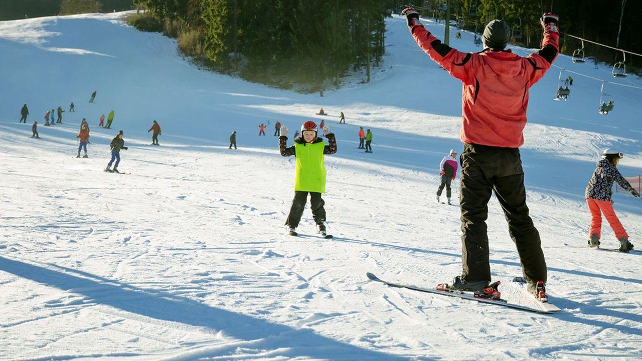 Les moniteurs de ski sont l'une des professions libérales affiliées à la Cipav qui vont bénéficier du nouveau régime d'indemnisation journalière.