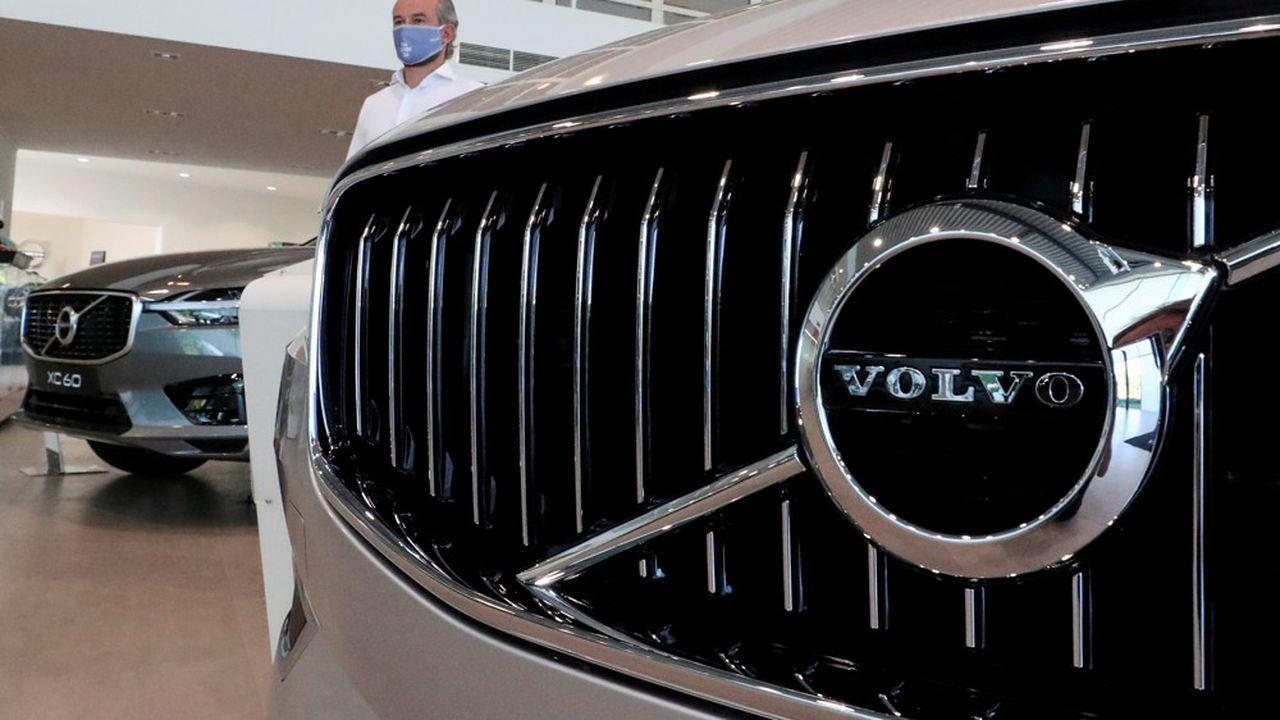 Les batteries issues de la nouvelle usine, à compter de 2026, équiperont le successeur du SUV électrique XC60.