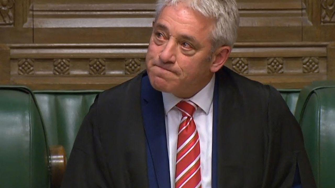 John Bercow, «speaker» de la chambre des communes de 2009 à 2019, est devenu une célébrité mondiale lors des débats sur le Brexit.