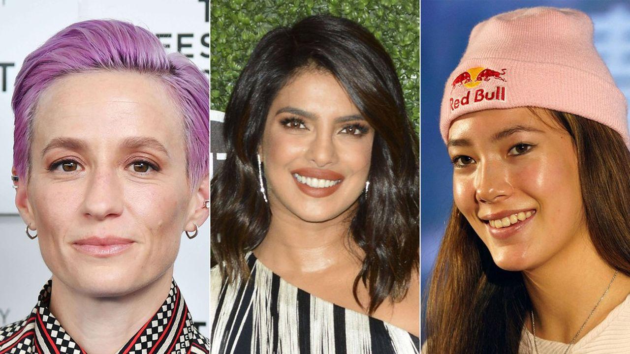 Loin des clichés habituels, Megan Rapinoe, Priyanka Chopra Jonas et Eileen Gu sont les nouvelles égéries de Victoria's Secret.