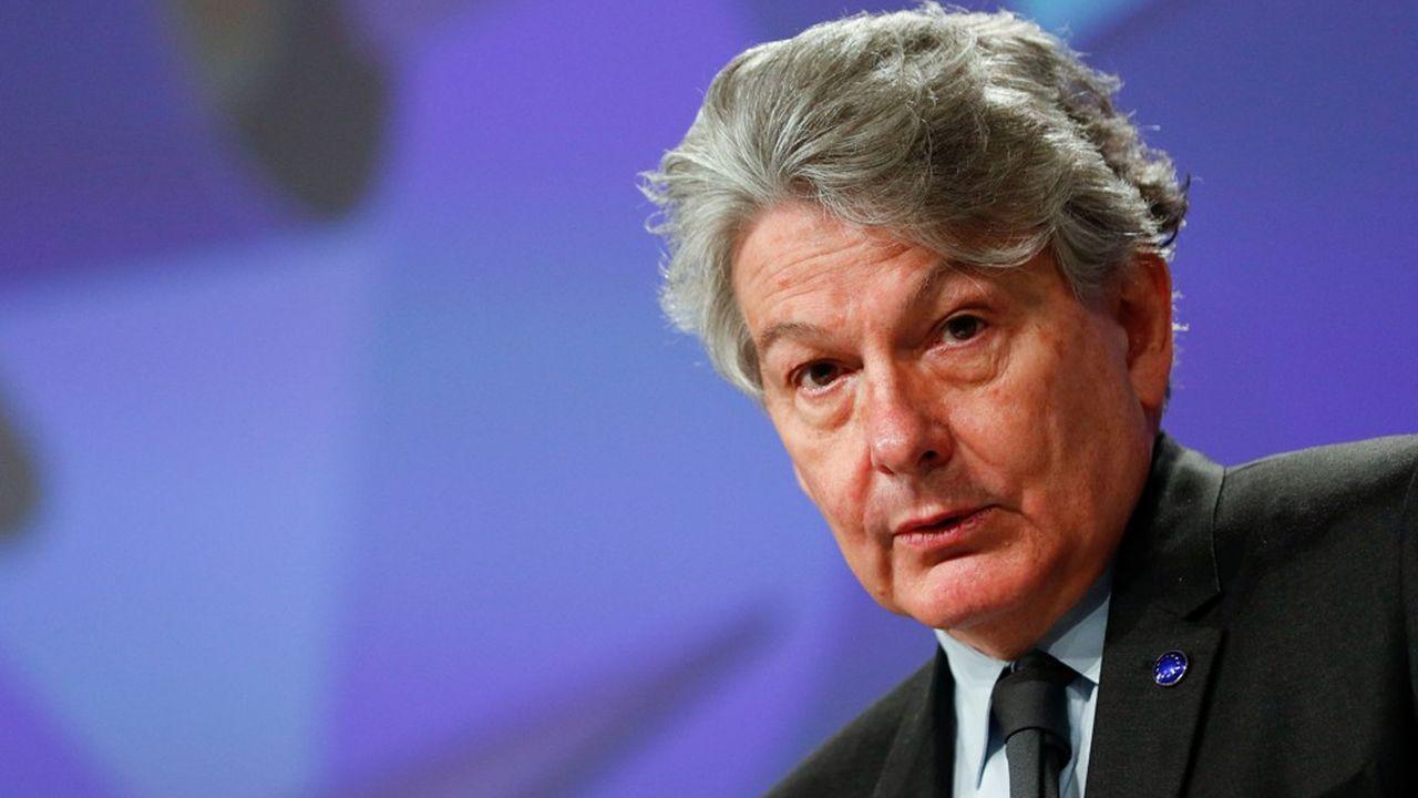 Thierry Breton, le commissaire européenen charge de la politique industrielle, du marché intérieur, du numérique, de la défense et de l'espace, s'intéresse aussi à «l'avion vert».