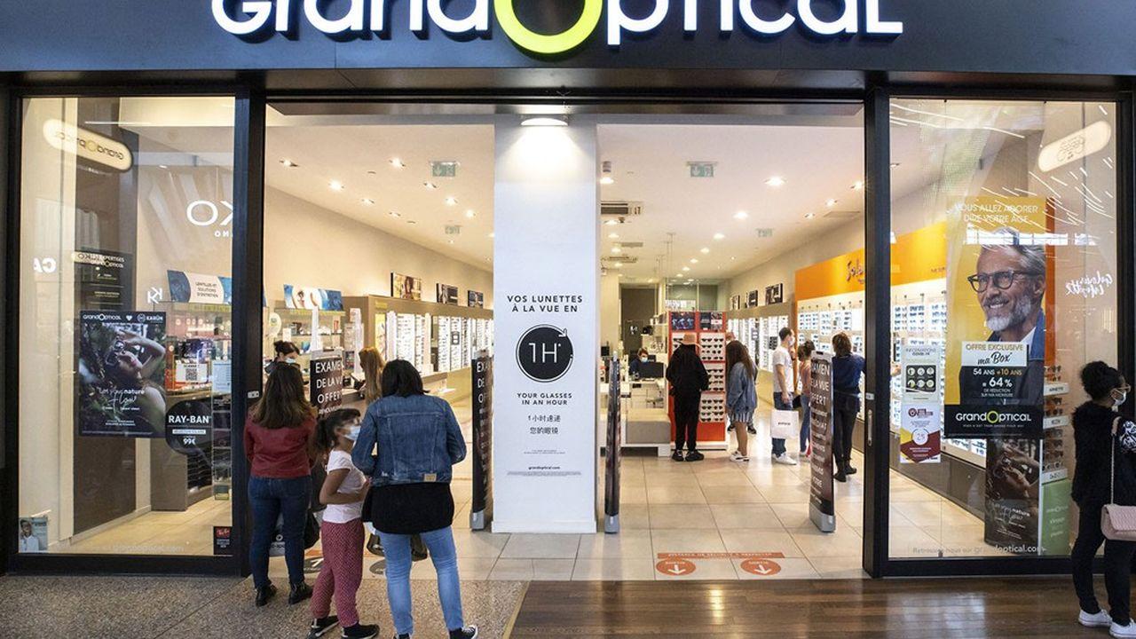 GrandVision est propriétaire en France de GrandOptical et Générale d'optique.