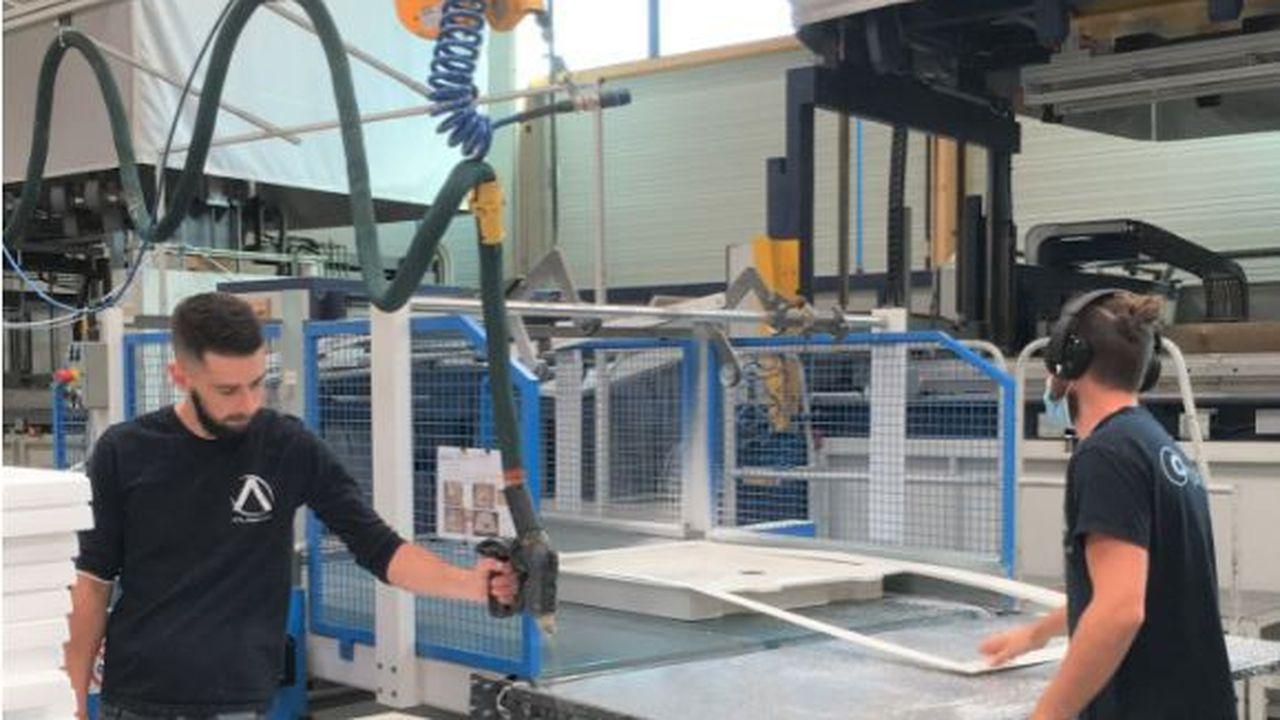 Atlanplast va recycler 100% de ses déchets de production.