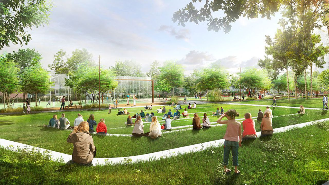 La rénovation du parc Diderot, troisième plus grand espace vert de la ville avec ses 2,1 hectares, s'élève à 15millions d'euros.