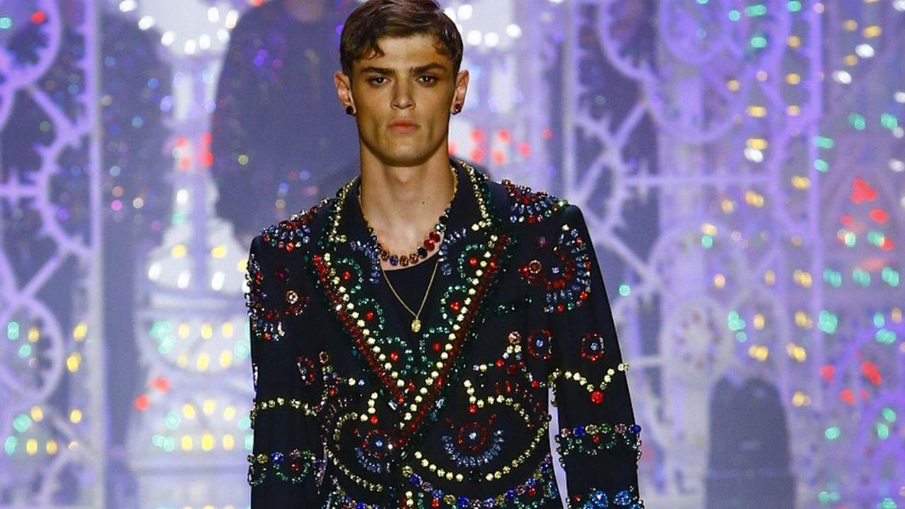 Dolce & Gabbana, défilé Homme Printemps-Eté 2022