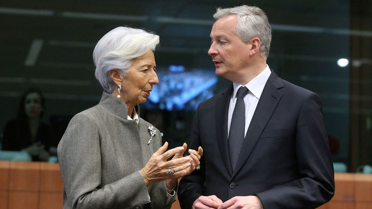 Le ministre de l'Economie, Bruno Le Maire, devra convaincre l'Europe et la BCE dirigée par Christine Lagarde de la justesse de la stratégie budgétaire de la France.