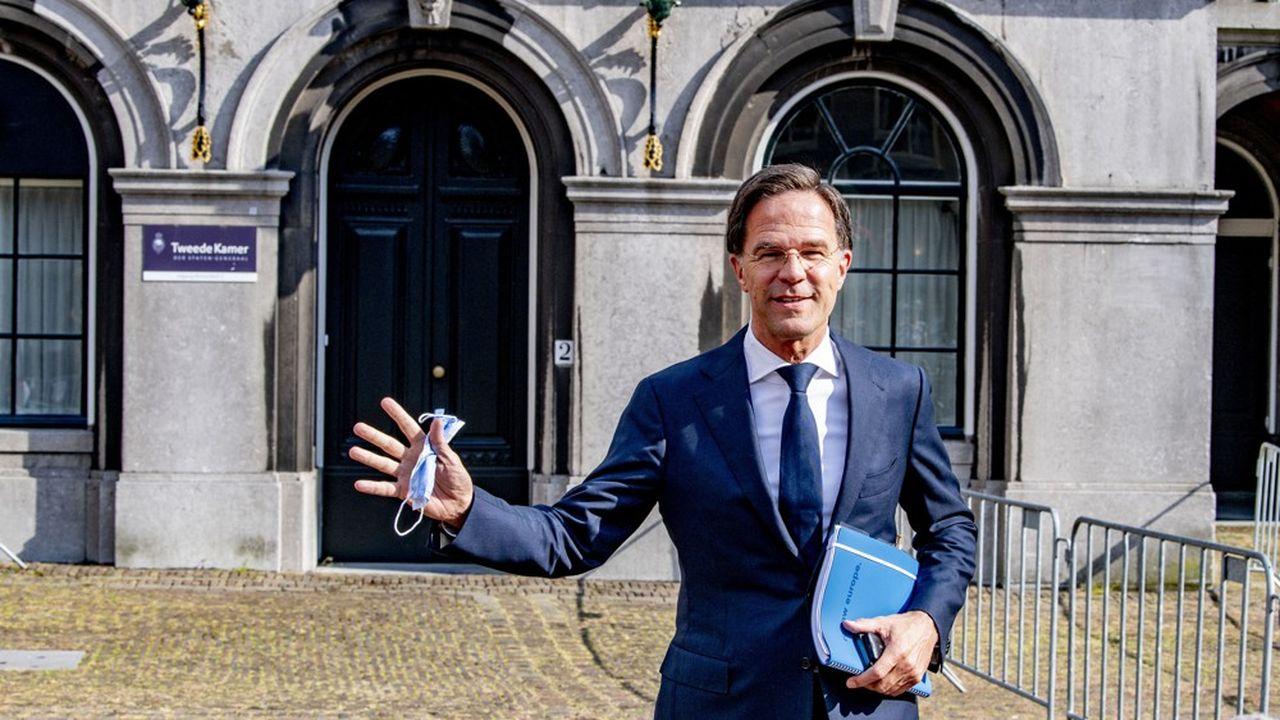 Le Premier ministre sortant Mark Rutte.