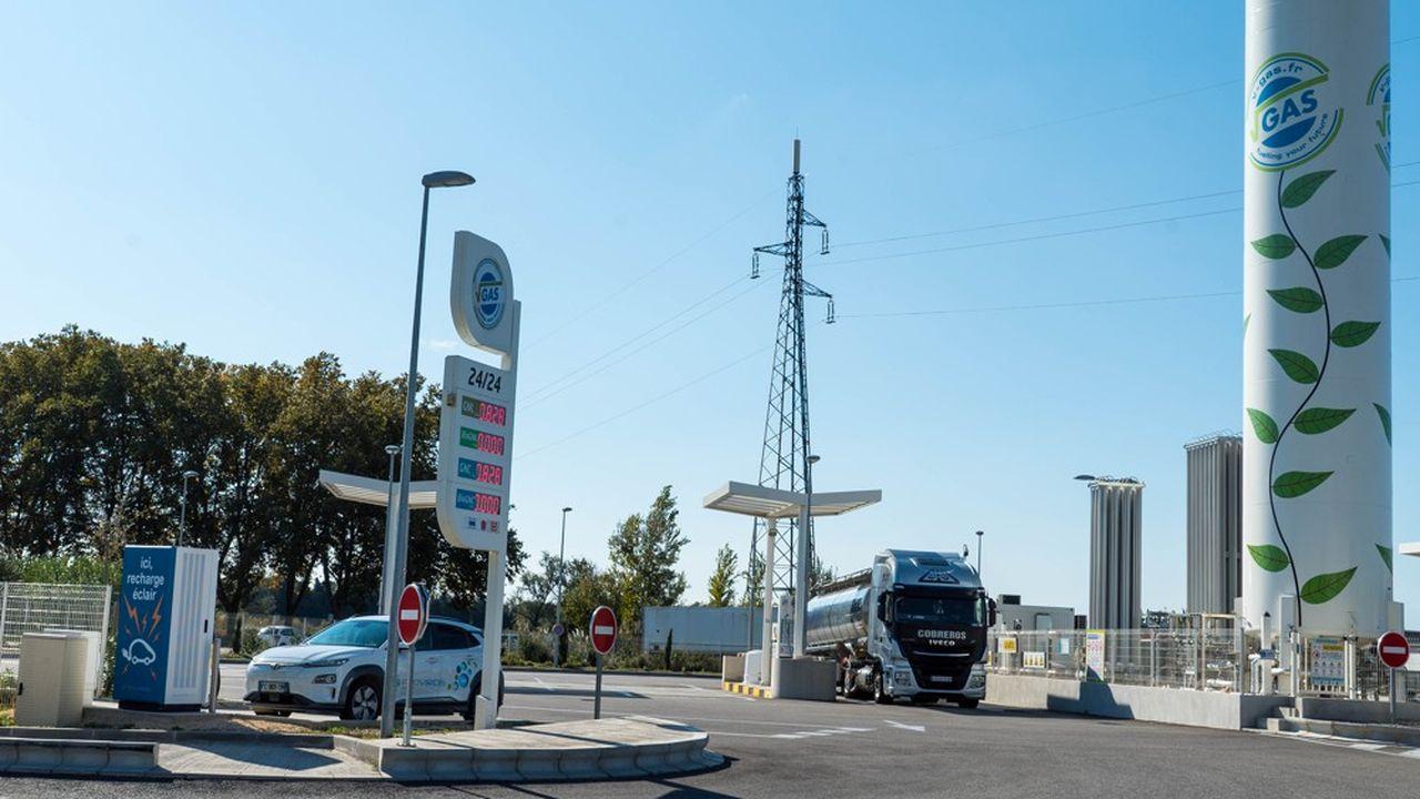 Station V-Gas Saint-Martin-de-Crau