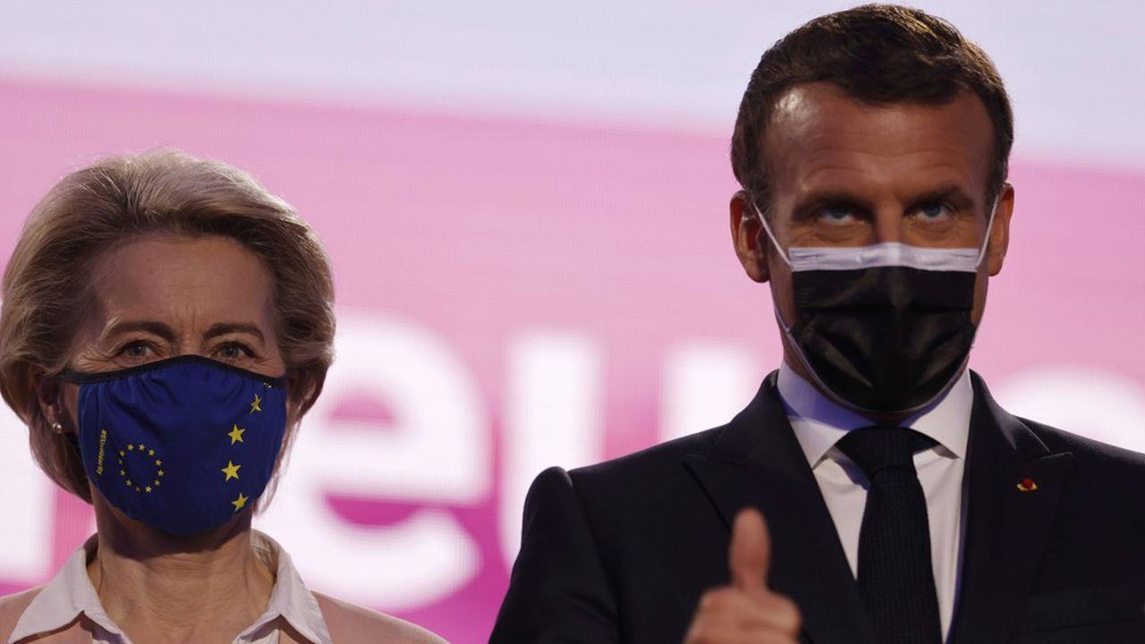 Ursula von der Leyen était à Paris ce mercredi pour rencontrer Emmanuel Macron.