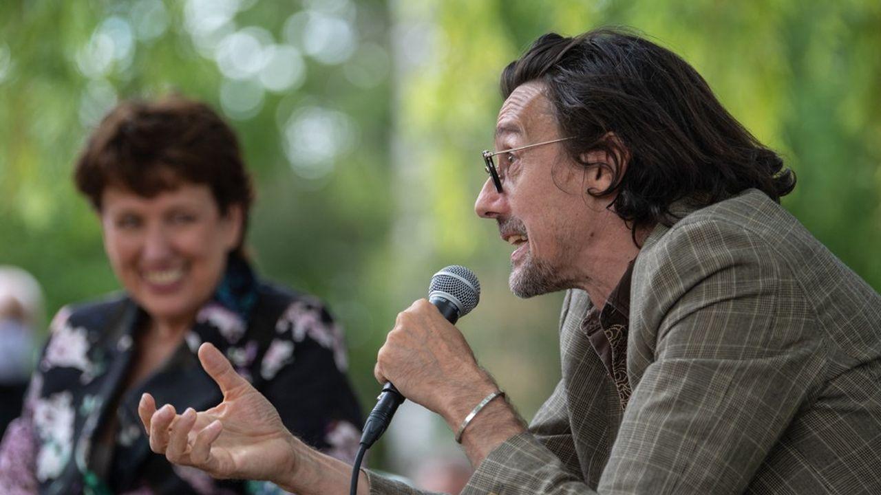 Stanislas Nordey, directeur du Théâtre National de Strasbourg, en juillet2020.