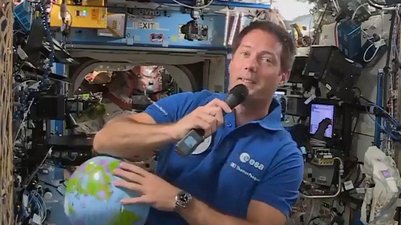 L'exemple de Thomas Pesquet à bord de l'ISS a inspiré les candidatures.