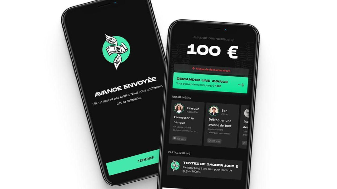 Lancé en 2020, Bling est l'un des acteurs du microcrédit en France.