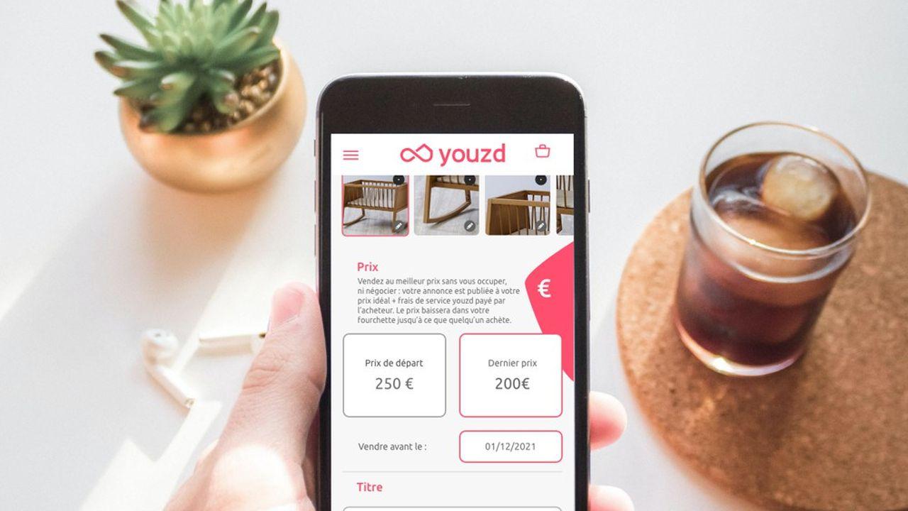 Uniquement disponible en application Web, Youzd a pour projet de développer une application mobile.