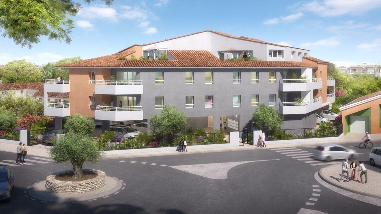 «Les Villégiales des Salins», résidence de 22 logements, a été livrée récemment au Grau-du-Roi.
