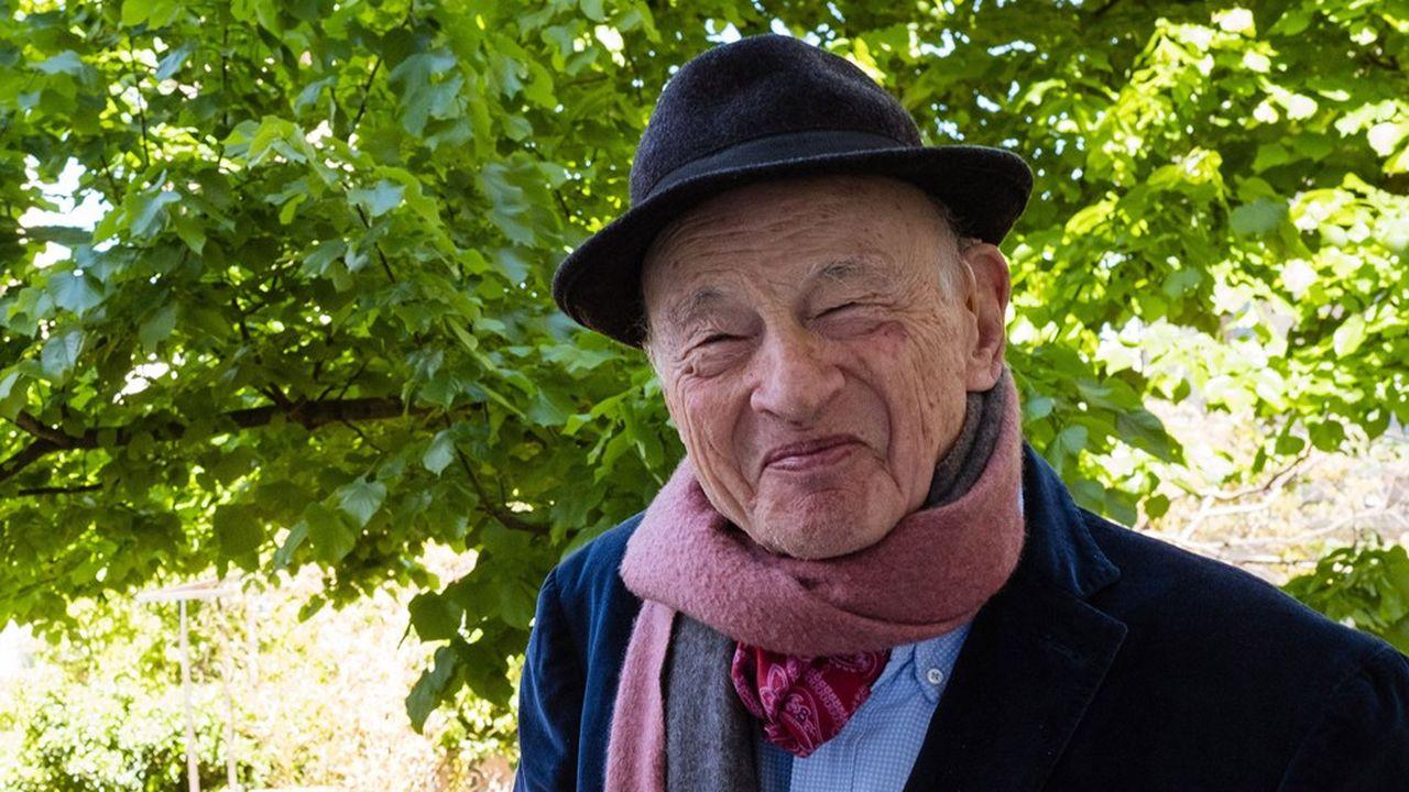 Edgar Morin, chez lui à Montpellier, le 29avril 2019.