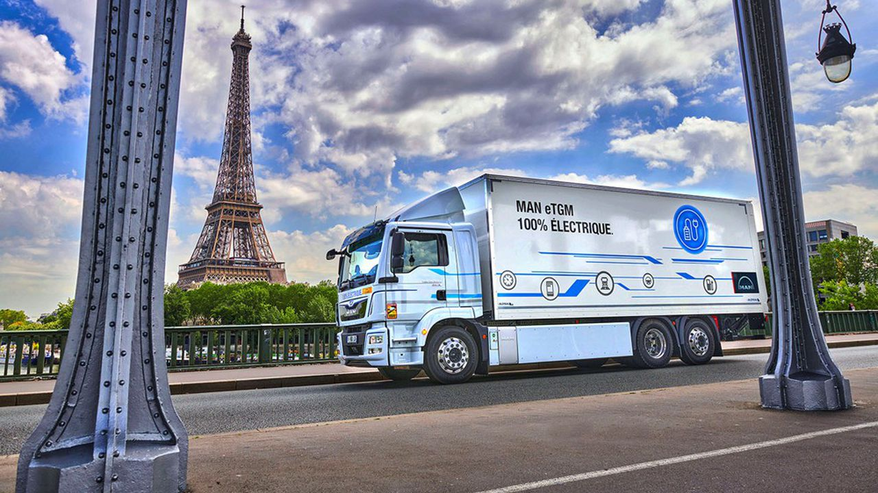Le camion électrique entrevoit ses premières applications sur la distribution urbaine. Les trajets interurbains demandent une amélioration sensible de l'autonomie.