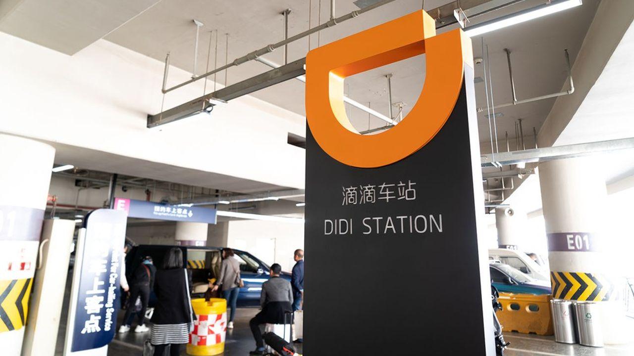 Didi domine le marché chinois des VTC.