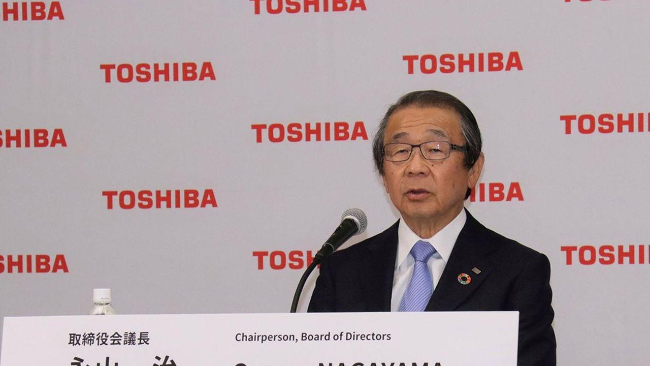 Osamu Nagayama aveva assunto la carica di capo del consiglio di amministrazione di Toshiba.