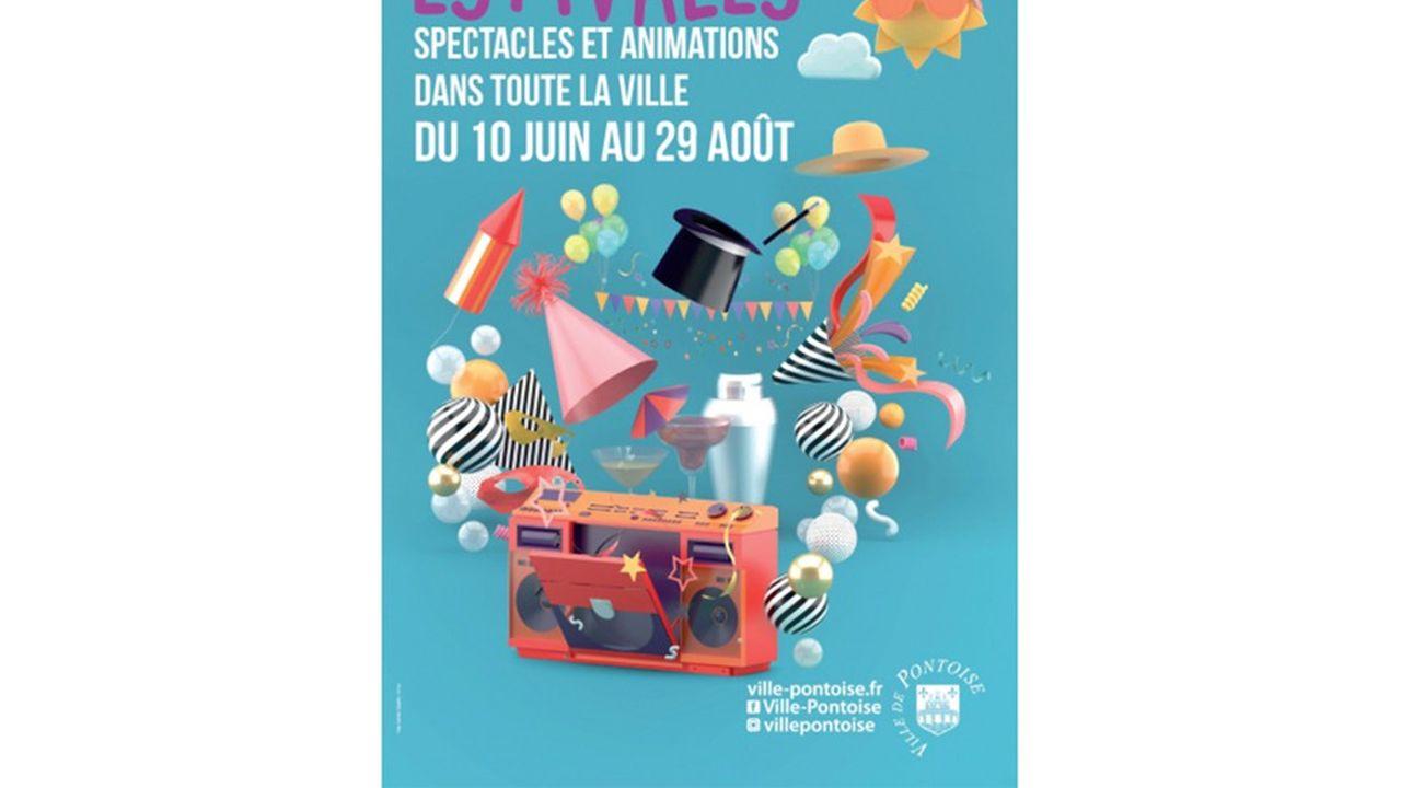 Un spectacle du festival Cergy Soit! donnera le clap de fin des Estivales au château de Marcouville (95)