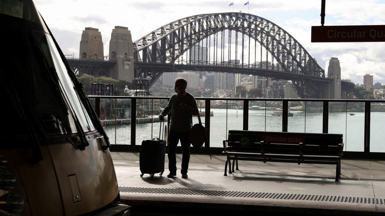 Pendant deux semaines, les habitants de Sydney ne pourront sortir de chez eux que sous certains motifs (travail, école, soins médicaux…).