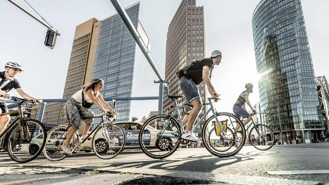 Sous l'effet du coronavirus, les ventes de vélos ont bondi de 17% l'an dernier en Allemagne.