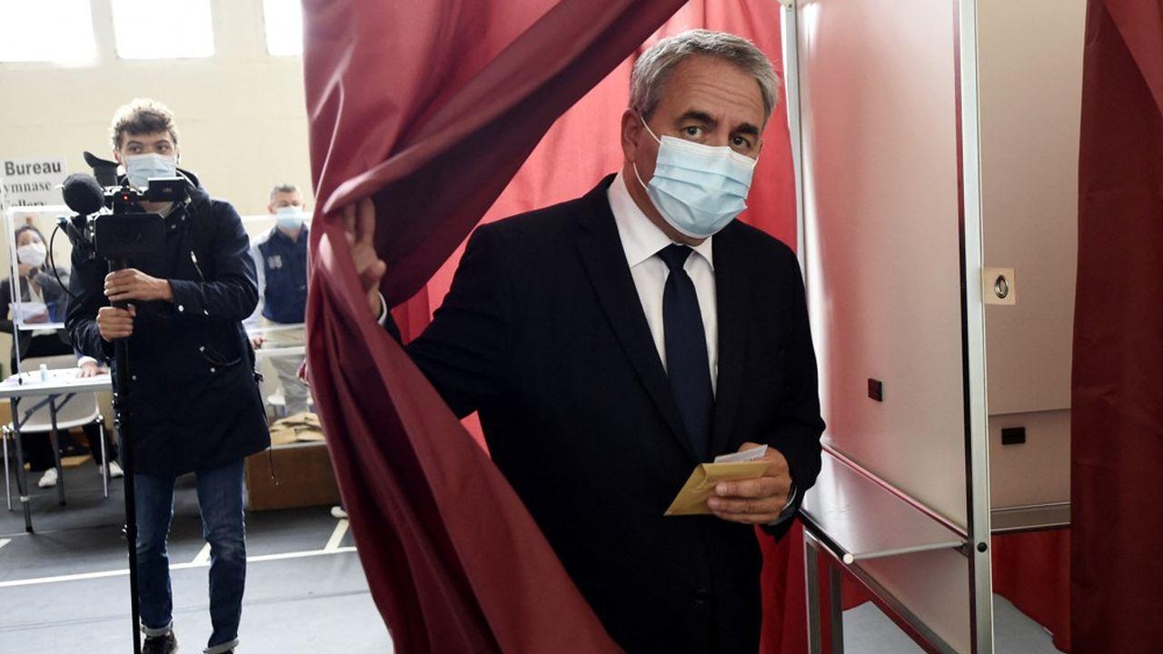 Xavier Bertrand, réélu ce dimanche à la tête de la région Hauts-de-France, est candidat à l'élection présidentielle de 2022. «Avec Macron, la guerre est déclarée depuis un moment», dit-il.