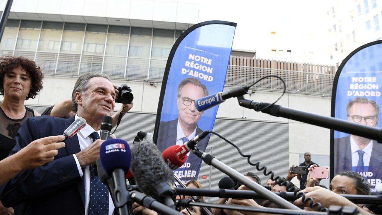 Renaud Muselier, le président sortant de Provence-Alpes-Côte d'Azur a été réélu au second tour.