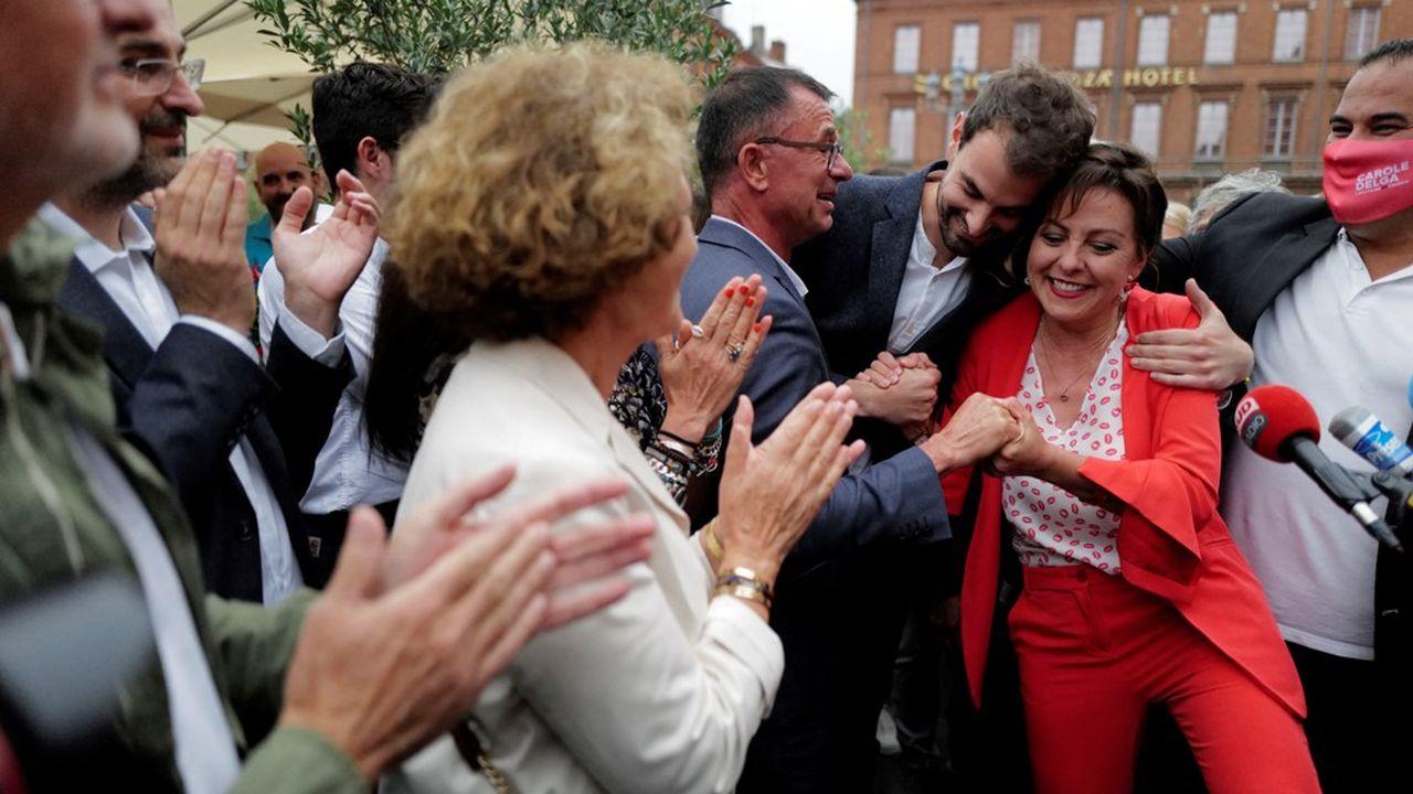 La présidente de la région Occitanie, Carole Delga, a enregistré la plus large victoire du scrutin, avec près de 58% des voix.