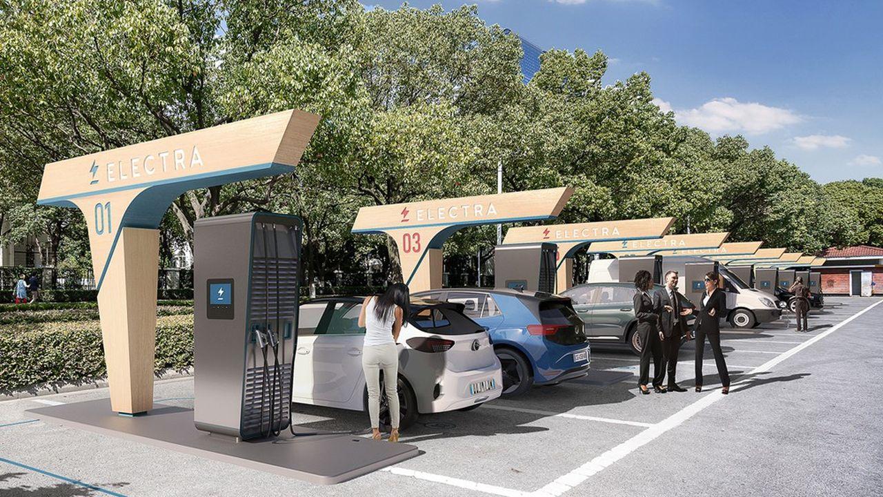 Electra veut installer 50 stations de recharge en France d'ici un an.