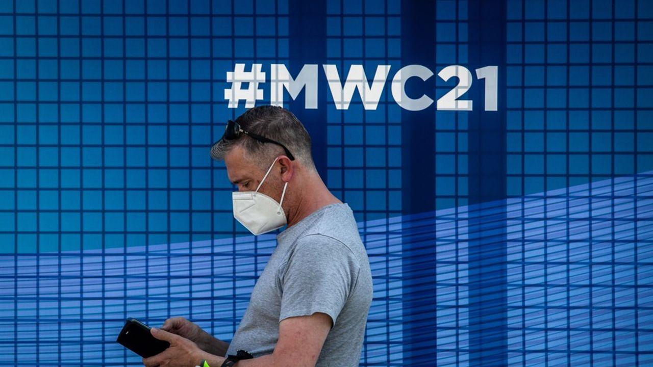 L'édition2021 du Mobile World Congress, le rendez-vous mondial des télécoms, démarre lundi pour quatrejours à Barcelone.