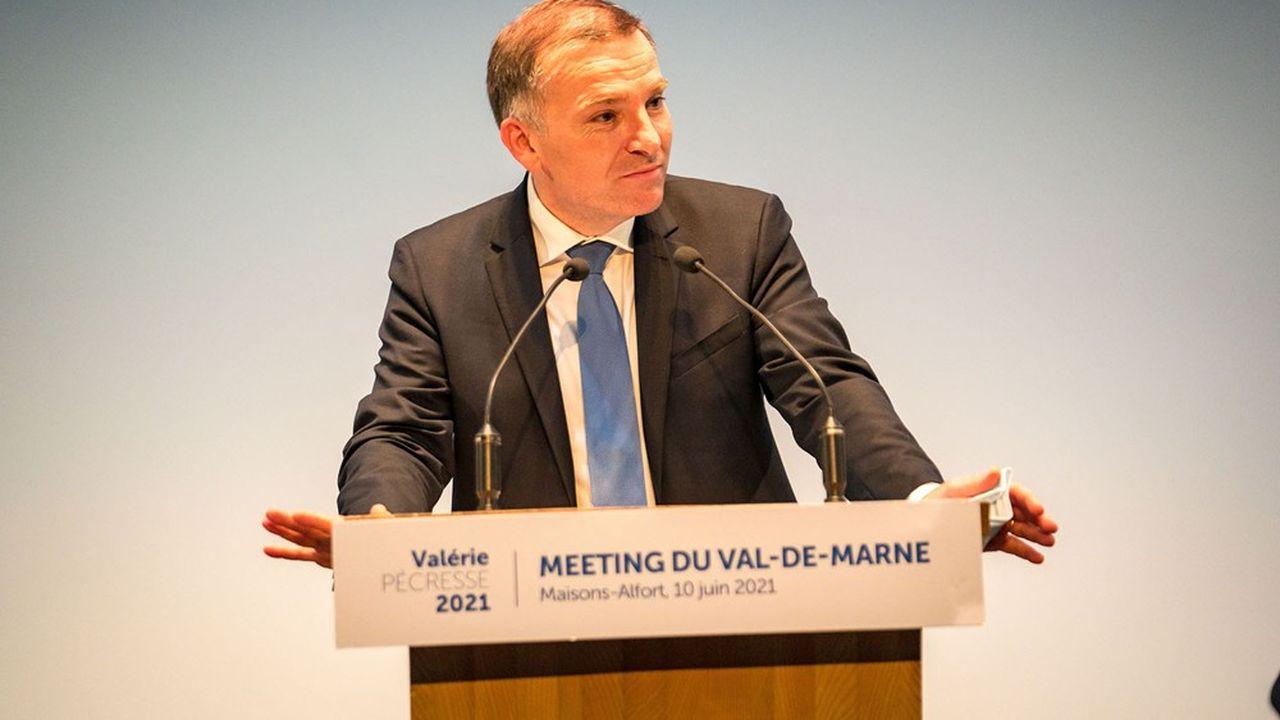 Olivier Capitanio, le maire (LR) de Maisons-Alfort, qui a mené la plateforme de droite et du centre (Les Républicains, UDI, Libres!), victorieuse dimanche soir.