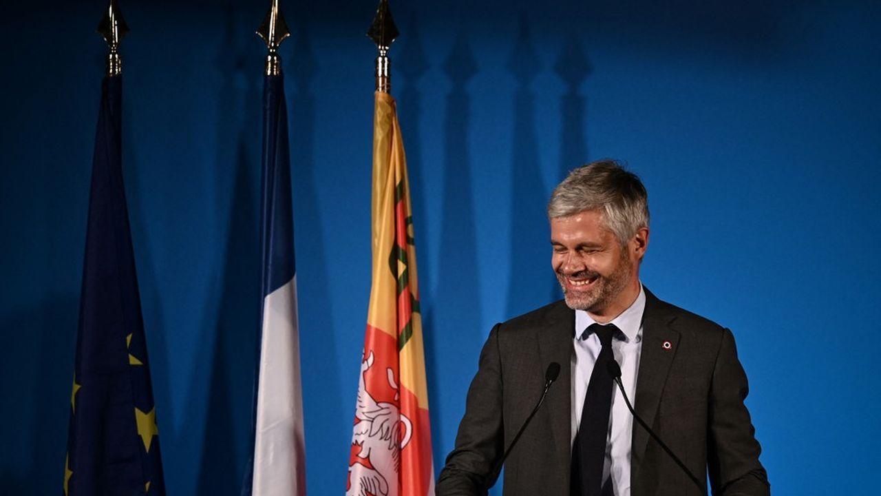 Laurent Wauquiez (LR) mise sur la continuité, en particulier sur la sécurité et l'économie.