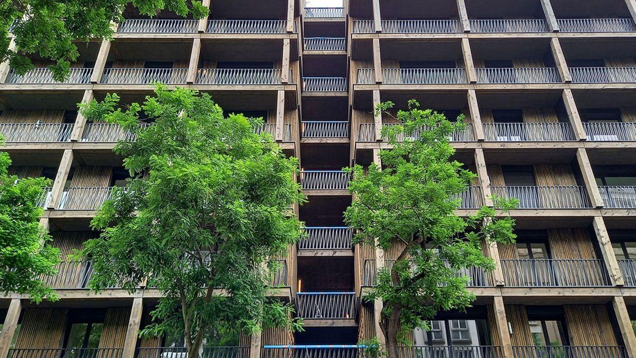 L'immeuble qu'Emerige va bientôt livrer rue de Tolbiac à Paris.