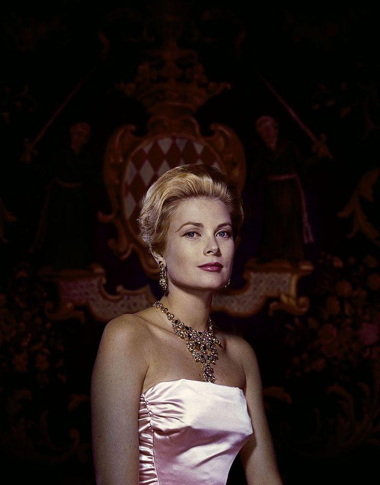 La princesse Grace photographiée en 1959 par Philippe Halsman.