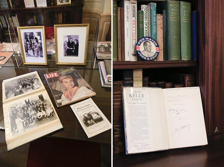La Princess Grace Irish Library, bibliothèque irlandaise où se trouvent des souvenirs et des ouvrages de Grace Kelly.