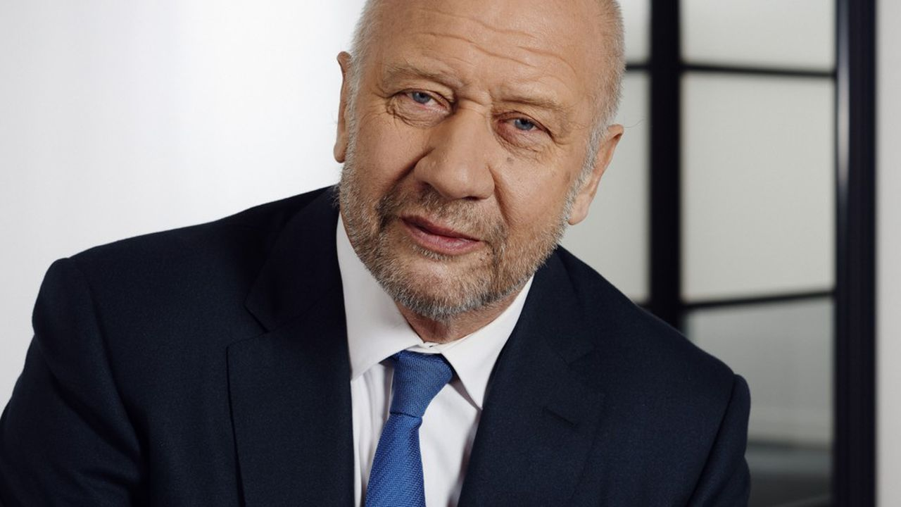 Patrick Puy, PDG du groupe Vivarte.