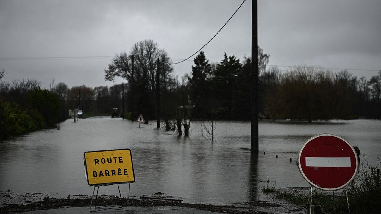 Inondations à Saintes, dans les Charentes.