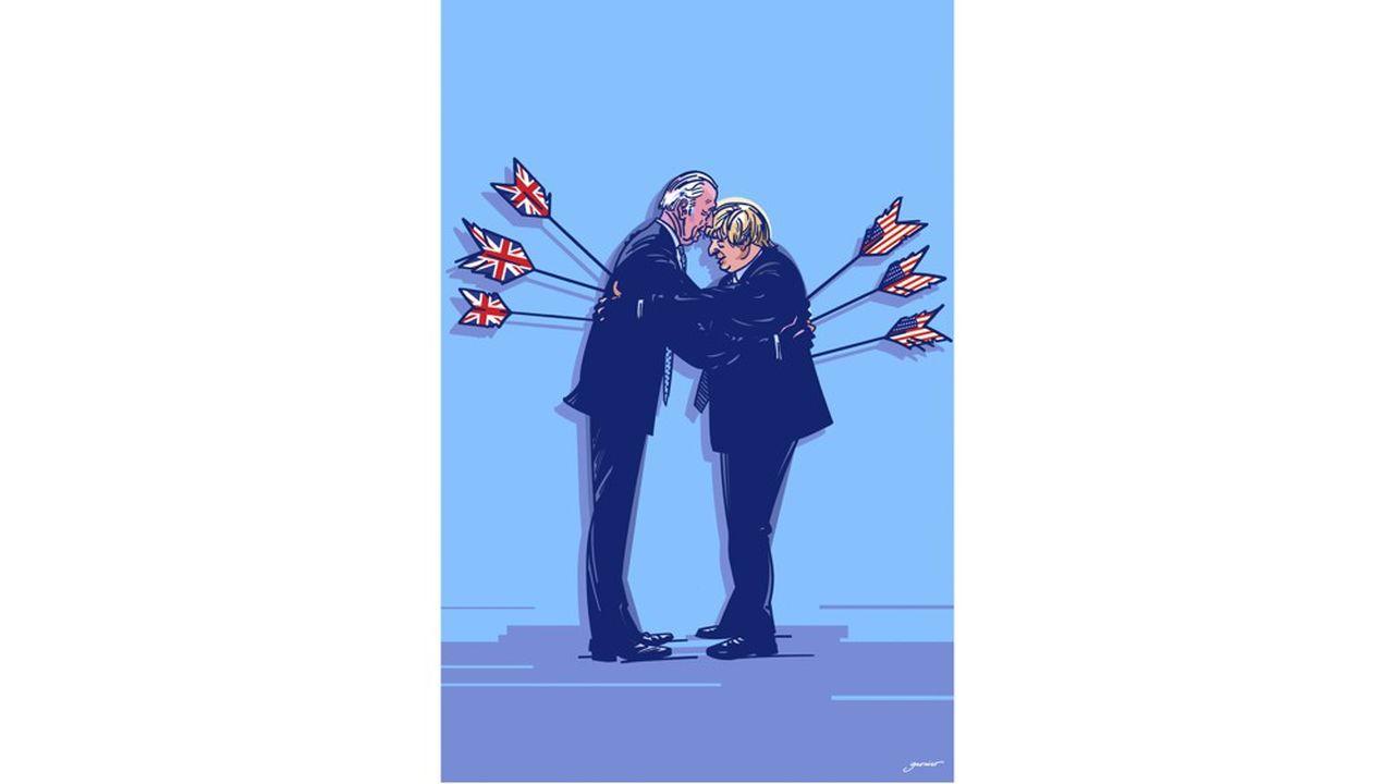 Joe Biden, le faux ami de Boris Johnson ?