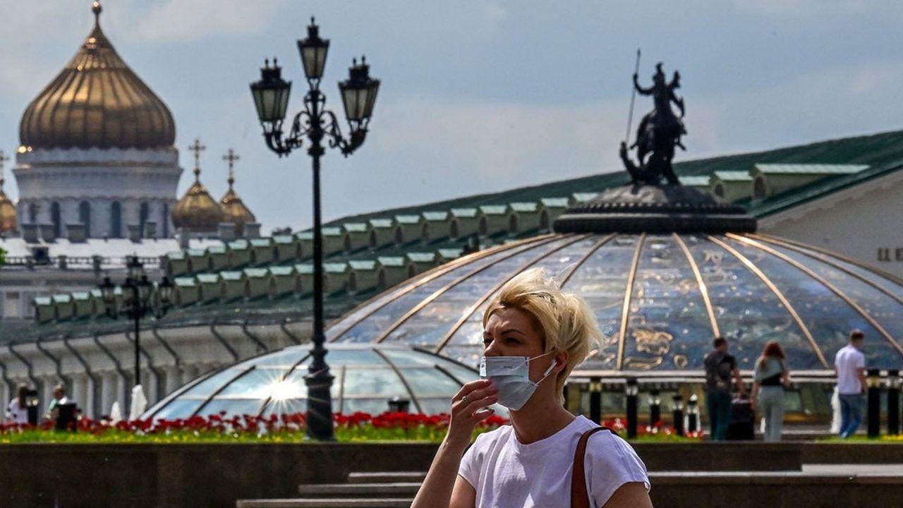 Les deux plus grandes villes de Russie avaient déjà battu des records de mortalité ce week-end.