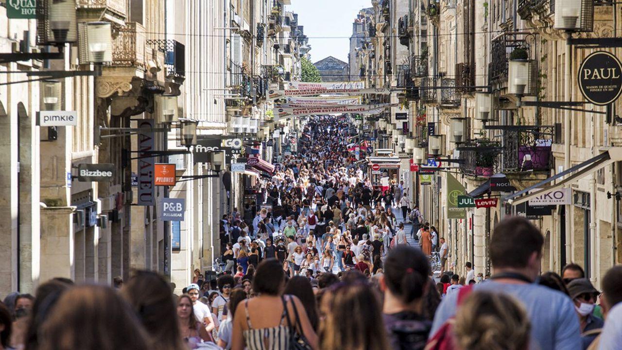 Les Français n'ont jamais eu autant envie de consommer depuis février2018