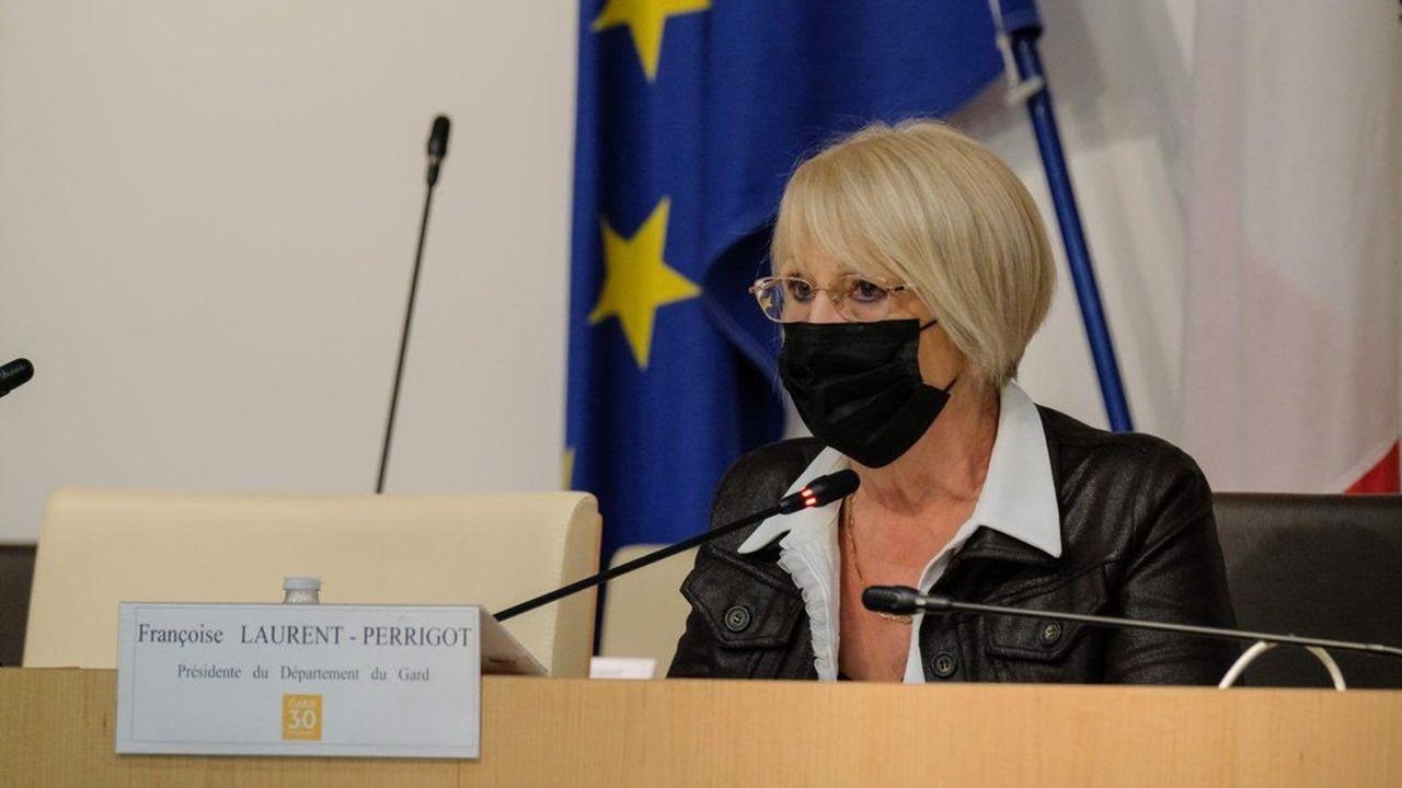 Françoise Laurent-Perrigot, présidente PS sortante de la collectivité.