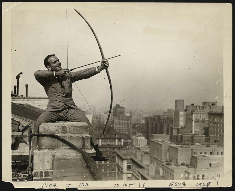 Douglas Fairbanks dans «Robin des Bois», extrait de «Douglas Fairbanks- Je suis une légende».