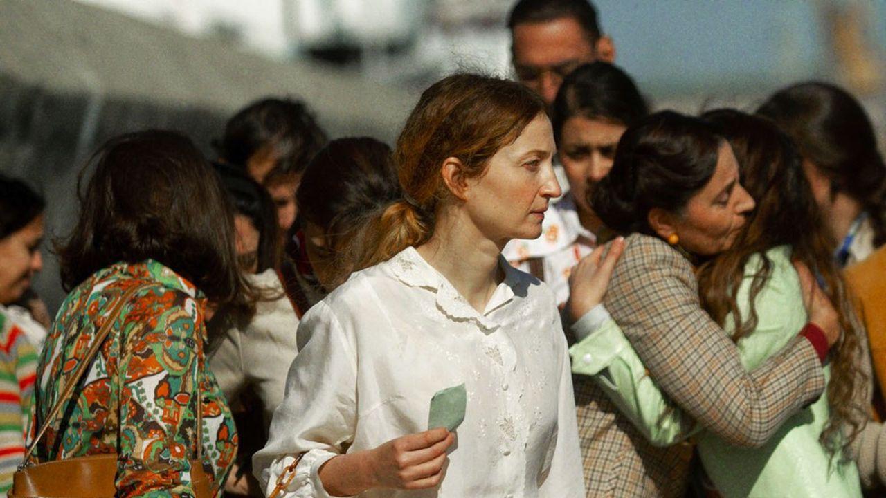 Alice (Alba Rohrwacher) dans le chaos de l'exil.