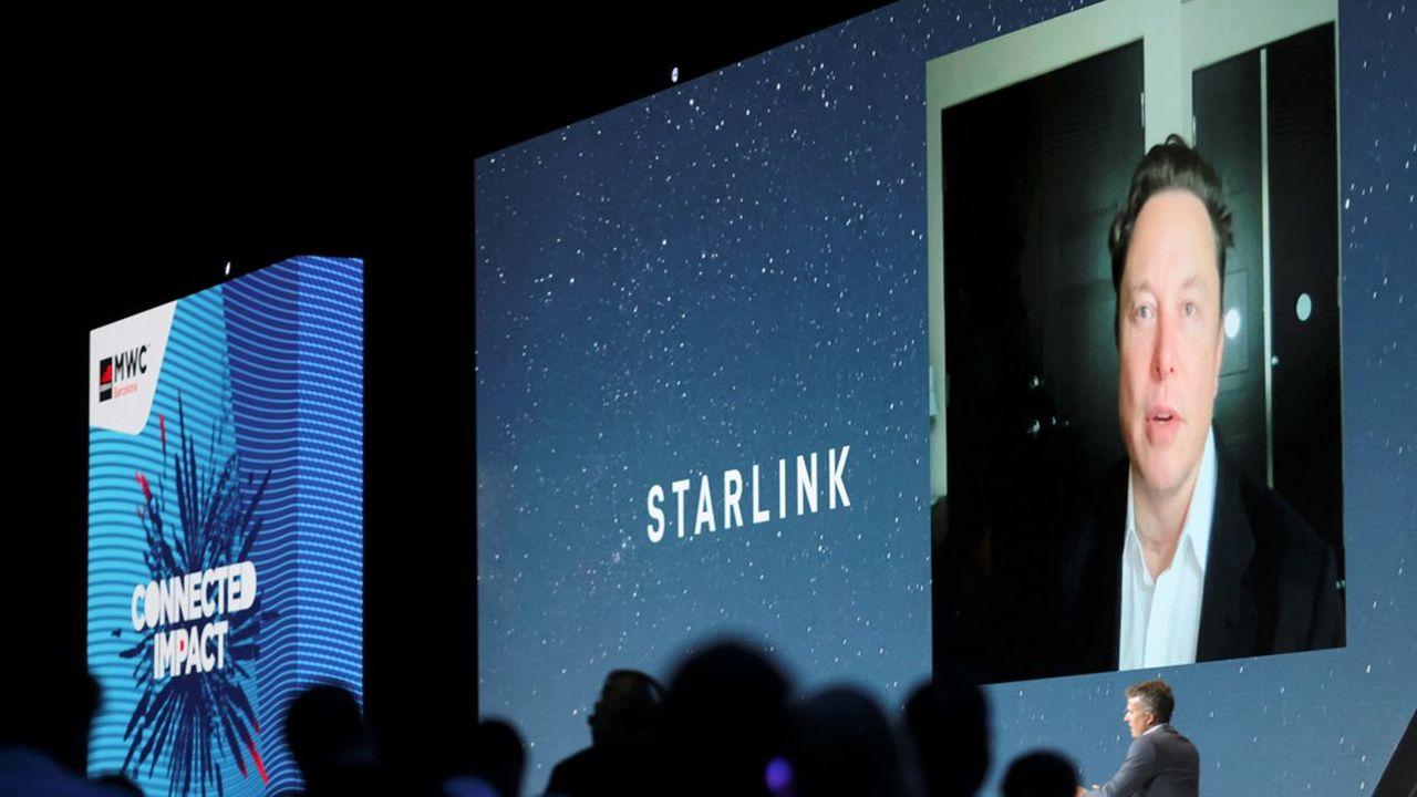 Elon Musk, le patron de Tesla et de Starlink, s'est exprimé pour la première fois mardi soir au Mobile World Congress de Barcelone, le rendez-vous mondial des «telcos».
