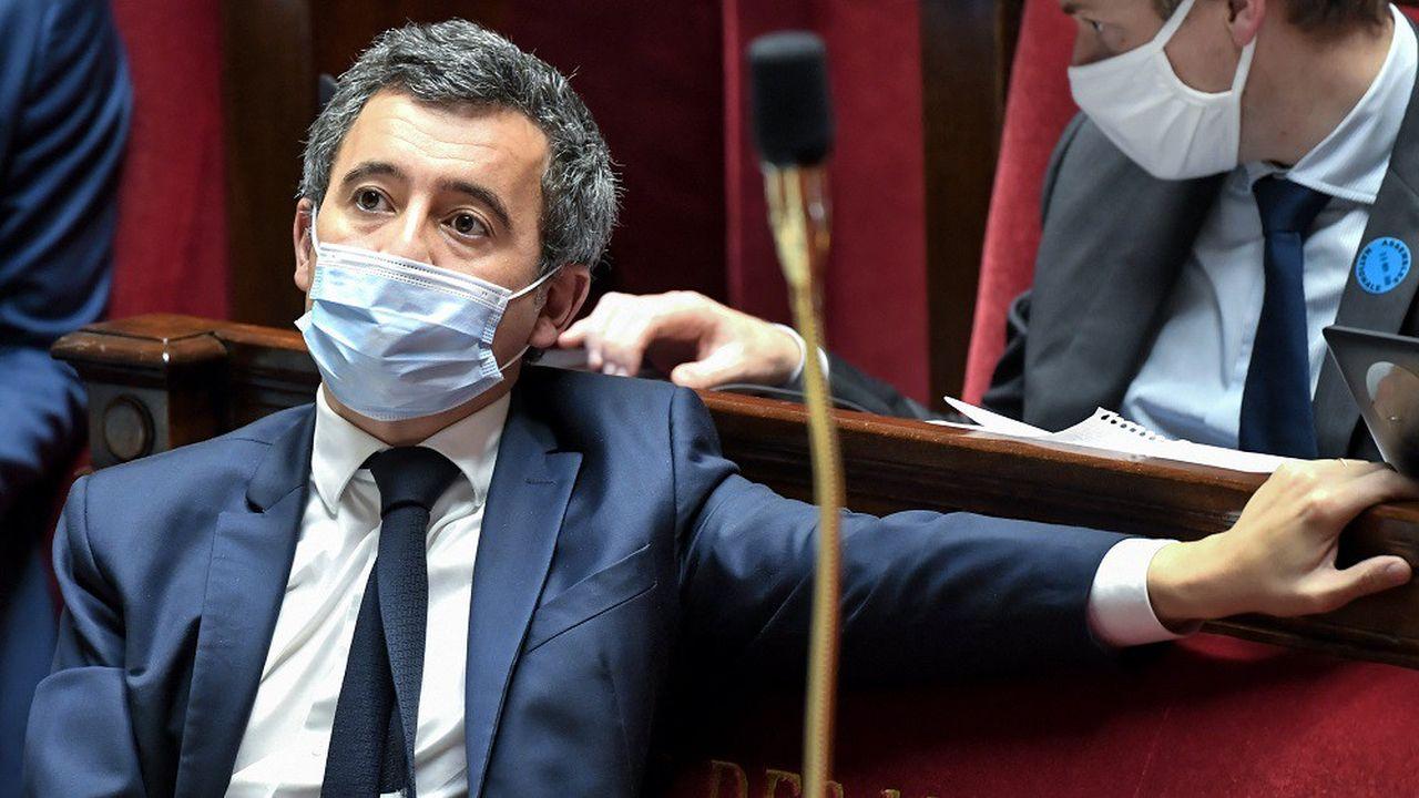 Gérald Darmanin a été assailli de questions sur la propagande électorale à l'Assemblée nationale.
